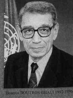 Boutros Boutros-Ghali quotes