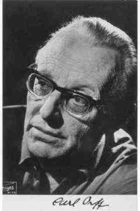 Carl Orff quotes